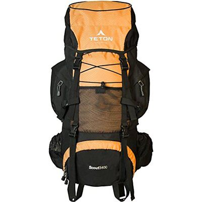 TETON Sports Scout 3400 Internal Conceive Backpack Great Backpacking Gear Pack For