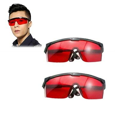 2pc 190nm-540nmgreenpurpleblue Glasses Goggles Laser Safety For Laser Pen Us