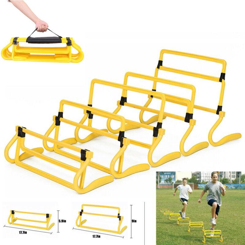 Fitness Adjustable Barrier Football Soccer Agility Speed 
