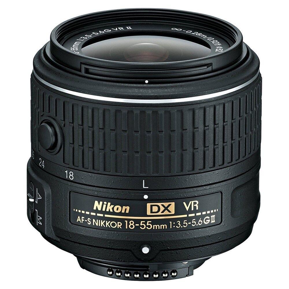 Купить Nikon 18-55mm VR II - Nikon AF-S NIKKOR 18-55mm f/3.5-5.6G VR II DX Lens