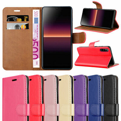 For Sony Xperia L4 Phone Case Leather Wallet Book Flip case for Xperia l4 Cover
