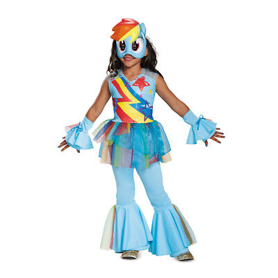 Rainbow Dash Movie (Girls Deluxe Rainbow Dash Movie My Little Pony)