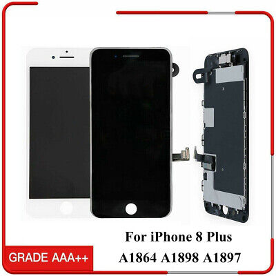 OEM iPhone 8 Plus Complete LCD Display Touch Digitizer Screen Replacement Camera Complete Lcd Display Screen