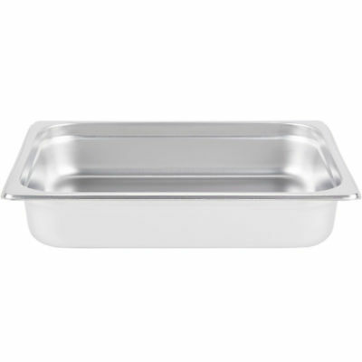 6-pack - Superior 2 12 Deep 188 Stainless Steel Hotel Steam Table Food Pans