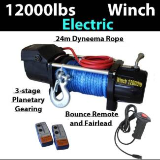 6 ton 12000LBS winch Dyneema Rope Electric Wireless Remote 4x4 Craigie Joondalup Area Preview
