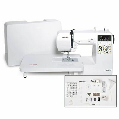 Janome JW8100 Computerized Sewing Machine Factory Refurbished