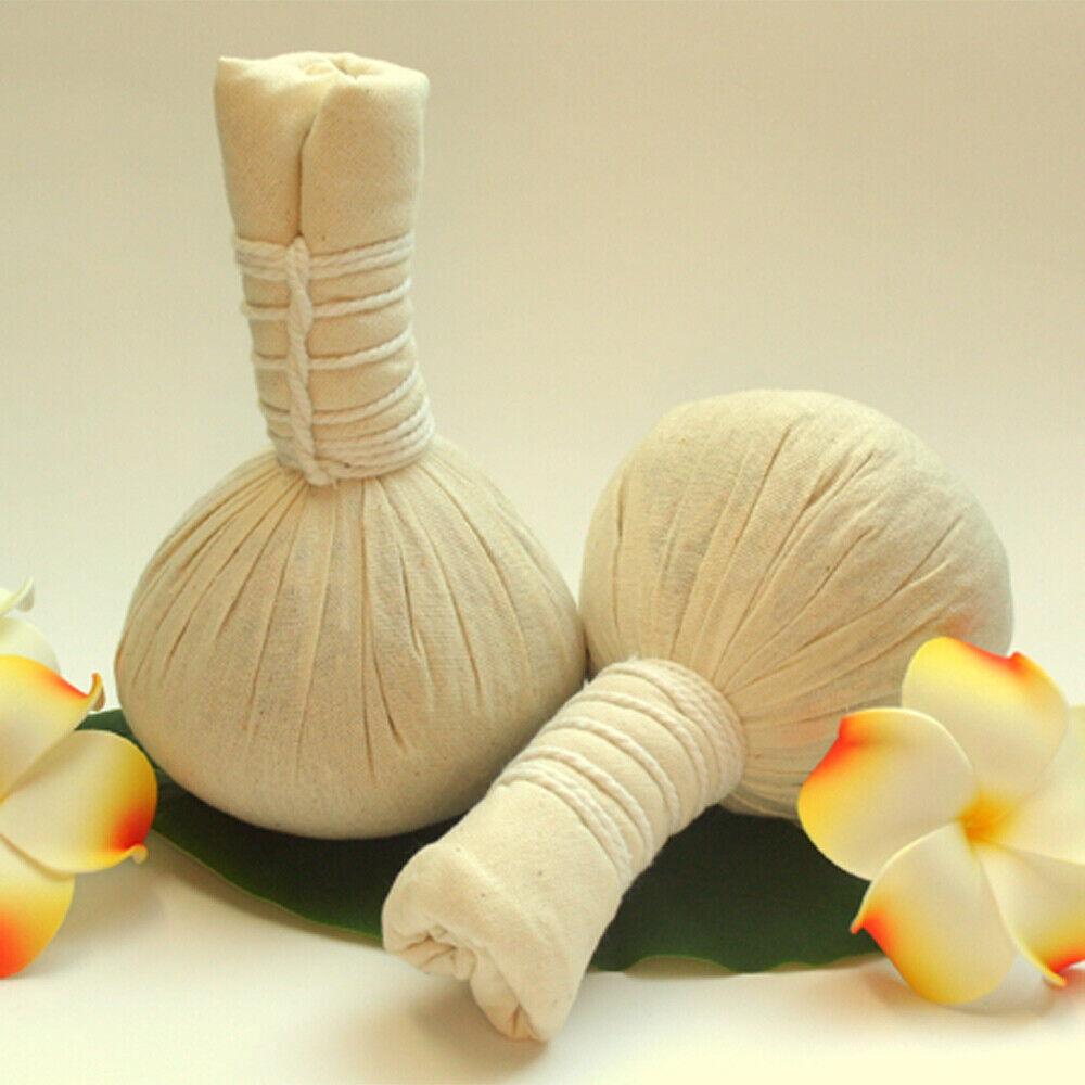 Kräuterstempel für traditionelle Massagen, 200g pro Stück Thai Kräuterball, groß