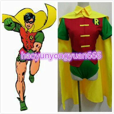 Batman Justice Robin Halloween Cosplay Costume Custom-made](Robin Cosplay Costume)