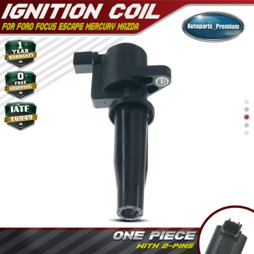 New Ignition Coil For Ford,Mazda,Mercury//3,6,Escape,Focus,Mariner 2003-2013