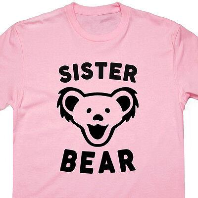 Mama Maternity T-shirt (Sister Bear T Shirt Papa Bear Tee Mama Bear Worlds Okayest Brother Maternity Tee)