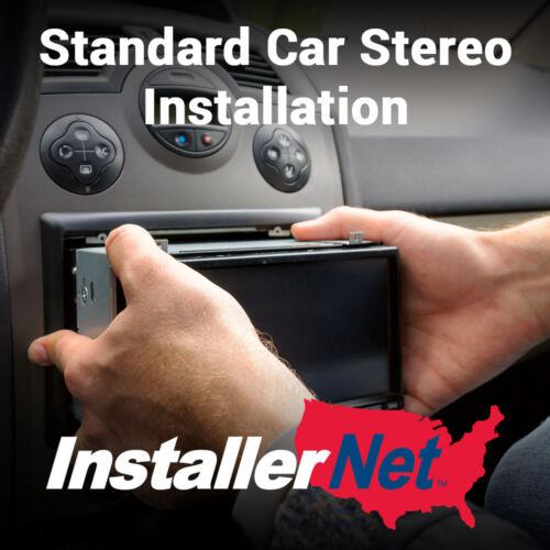 Car Stereo Installation from InstallerNet - Lifetime Warranty