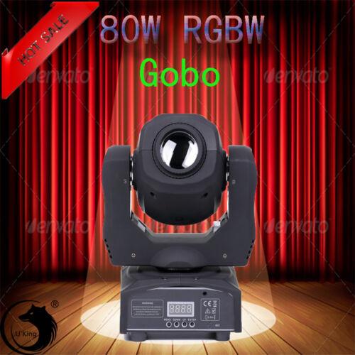 Bühnen Licht U`king RGBW Moving Head DJ Disco Party DJ Spot Gobo Stage Lighting