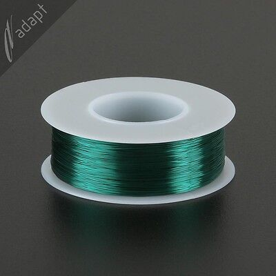 31 AWG Gauge Magnet Wire Green 1000' 155C Enameled Copper Coil Winding