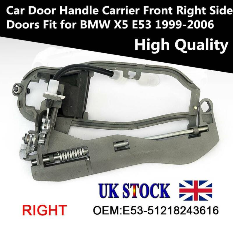 BLACK Brand New !!! BMW X5 E53 1999-2006 REAR RIGHT OUTER DOOR HANDLE