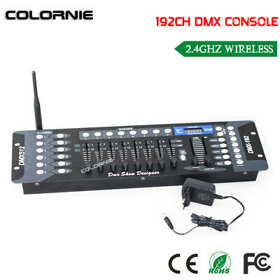 2.4G Wireless DMX controller 192CH DMX console for dj light and stage lighting