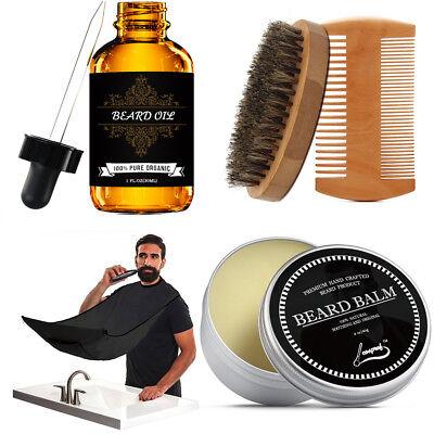 Beard Oil & Trimming Kit for Men - Grooms Beard, Mustache Beard Whole Kit.