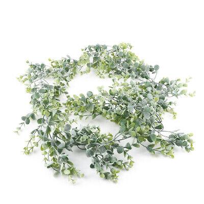 2M Eucalyptus Garland Artificial Ivy Vines Leaves Decor Wedding Party Xmas Home