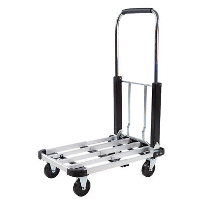 330lb Platform Cart Dolly Folding Moving Luggage Flatbed Cart Hand Truck Trolley