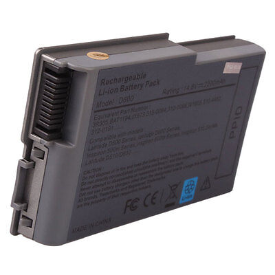 53Wh 4Cell Laptop Battery For Dell Latitude D500 D505 D510 D520 D600 D610 0X217
