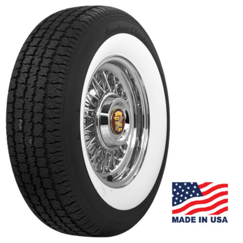 """AMERICAN CLASSIC Wide Whitewall P235/75R15 104S (3"""") (Quantity of 4)"""