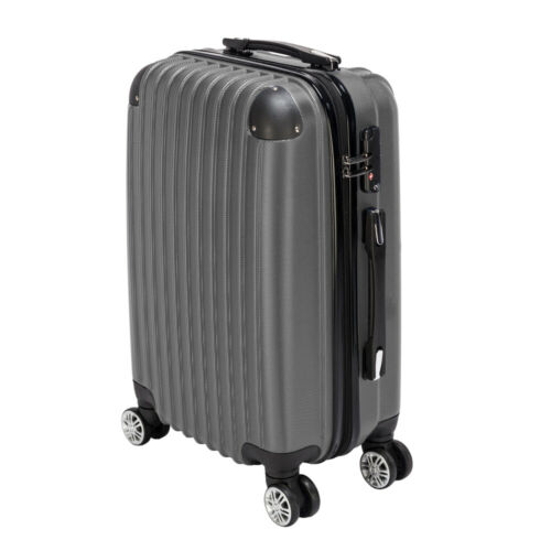 "20"" Waterproof Spinner Luggage Travel Business Large Suitcas"