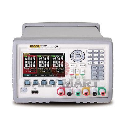 New Rigol Dp1308a Programmable Dc Power Supply 80w 6v5a 25v1a -25v1a 3-ch