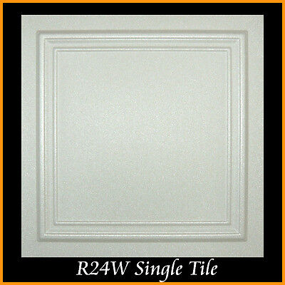 - Ceiling Tiles Glue Up 20x20 R24 Ultra Pure White Satin Painted SUPER SALE