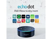 Brand New Amazon Echo Dot Alexa Room Voice Control Cost £50