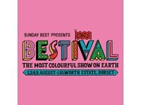 Bestival camping tickets *Lulworth estate* 2nd-5th of August 2018