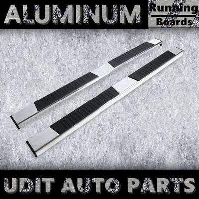 "Fit 09-18 Dodge RAM 1500 Crew Cab 6"" Chrome Aluminum Side Step Running Boards"