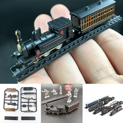 Electric Train Collection (1:200 Train Steam Electric Locomotive Model Collection Puzzle Assembling )