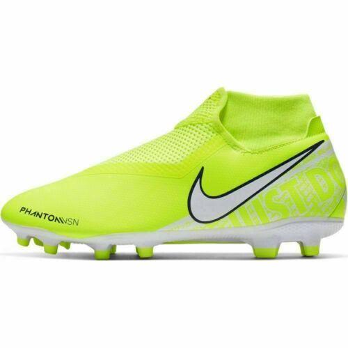 Nike Phantom VSN Academy Dynamic Fit FG Soccer Cleats AO3258-717 Volt Sz 10 #JR