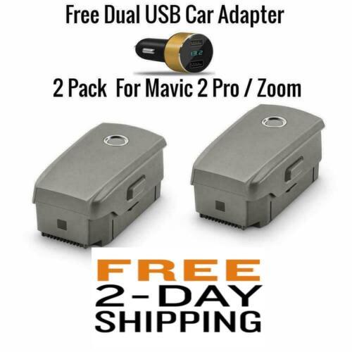 Genuine DJI Mavic 2 Intelligent Flight Battery for Mavic 2 Pro and Zoom (2-Pack)