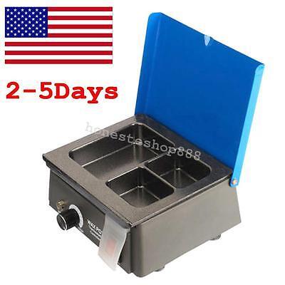 Usa Dental 3 Well Analog Wax Melting Dipping Pot Heater Melter Equipment 0-150