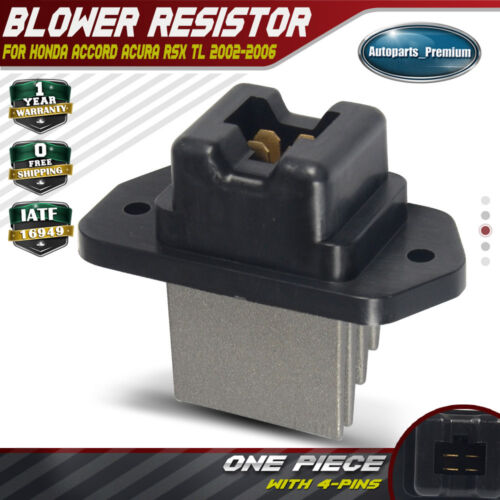 Front A/C Blower Motor Resistor For Honda Accord 03-07