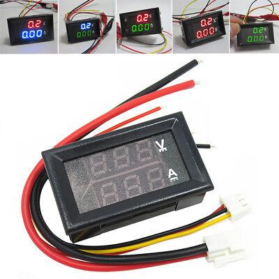 Dc 0-100v 1a 10a 50a 100a Led Digital Voltmeter Ampere Volt The Ammeter Voltage