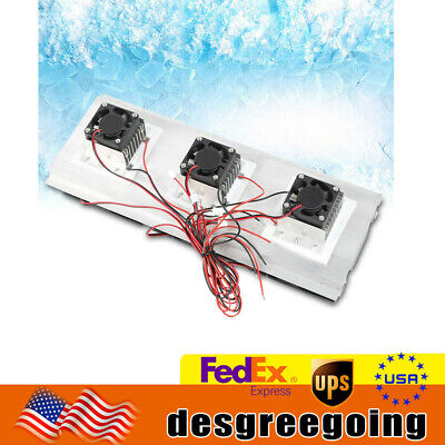 210w Semiconductor Refrigeration Peltier Cooling System Kit Cooler Fan Diy Kit
