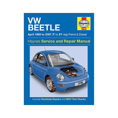 VW Beetle 1.4 1.6 1.8 2.0 Petrol 1.9 Diesel 99-07 (T to 57 Reg) Haynes Manual