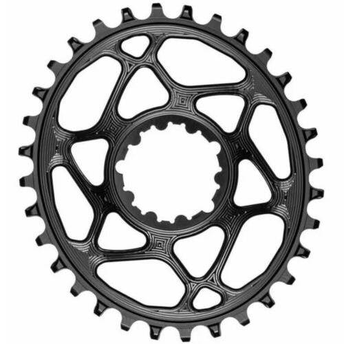 absoluteBLACK Oval Boost Chainring for SRAM. Black