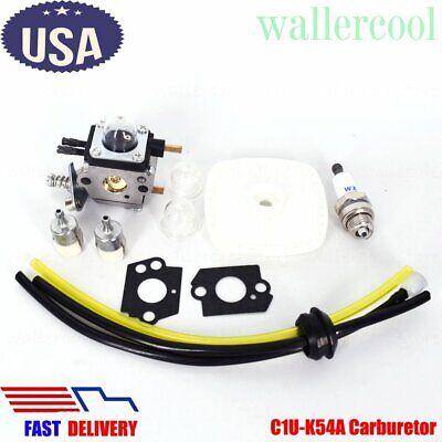 Used, C1U-K54A Carburetor for Zama Mantis Tiller 7222 Echo 12520013123 Carb Fuel Line for sale  Rowland Heights