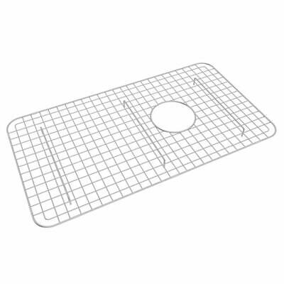 Rohl WSG3018SS Wire Sink Grid for RC3018 Sink, Stainless Steel Finish Rohl Sink Grid