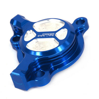 Motorcycle Billet Oil Filter Cover Cap For Yamaha YZ250F WR250F YZ450F WR450F ()