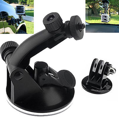 Suction Cup Mount Tripod Adapter Camera Accessories For Gopro Hero 4/3/2/HD (Gopro Suction Cup Mount)