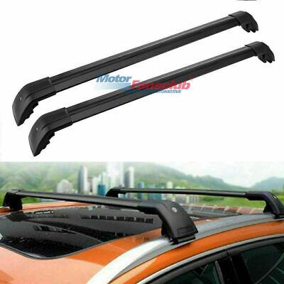 Cross Bars Roof Rails Rack Baggage For BMW X1 E84 2010-2017 Crossbars Black