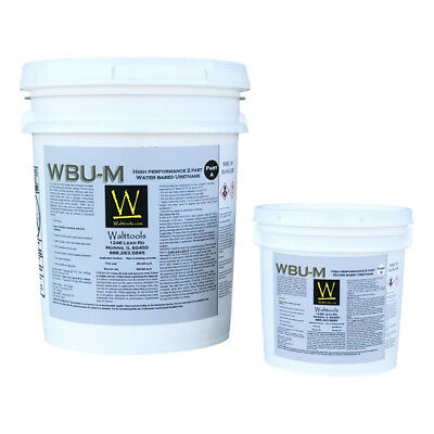 Walttools Wbu M Concrete Coating Water-based Urethane Matte - 5 Gal Kit