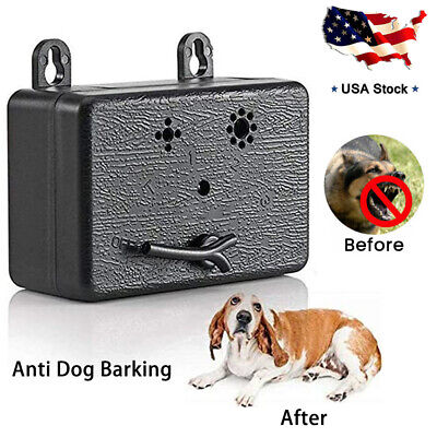Mini Outdoor Dog Pet Anti Barking Device Ultrasonic Control Training Silencer