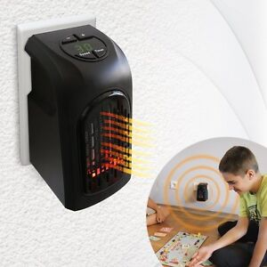 Livington Handy Heater Effektive Keramik Mini Heizung für die Steckdose das TV
