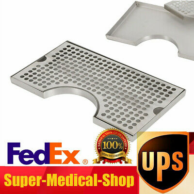 Stainless Steel Beer Drip Tray Surface Mount No Drain Easy To Disassembleclean