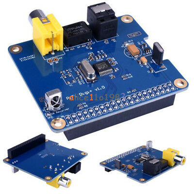 HIFI PIFI Digital Sound Card I2S SPDIF Optical Fiber Module for Raspberry pi 2/3