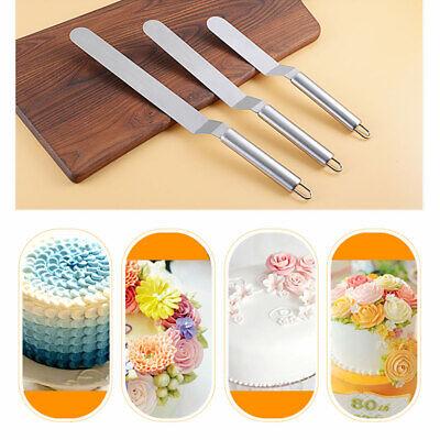 Edelstahl Spatel für Kuchen Creme Butter Smoother Backen Gebäck Dekor Werkzeug Creme Küchenutensilien